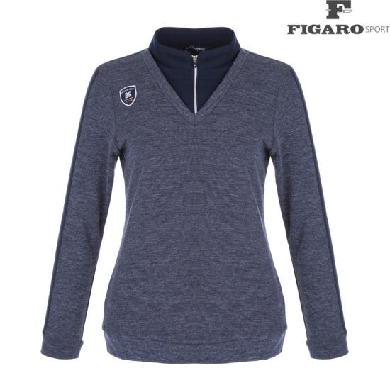 피가로스포츠 여성 V넥 티셔츠 4F8WTS135M_NA