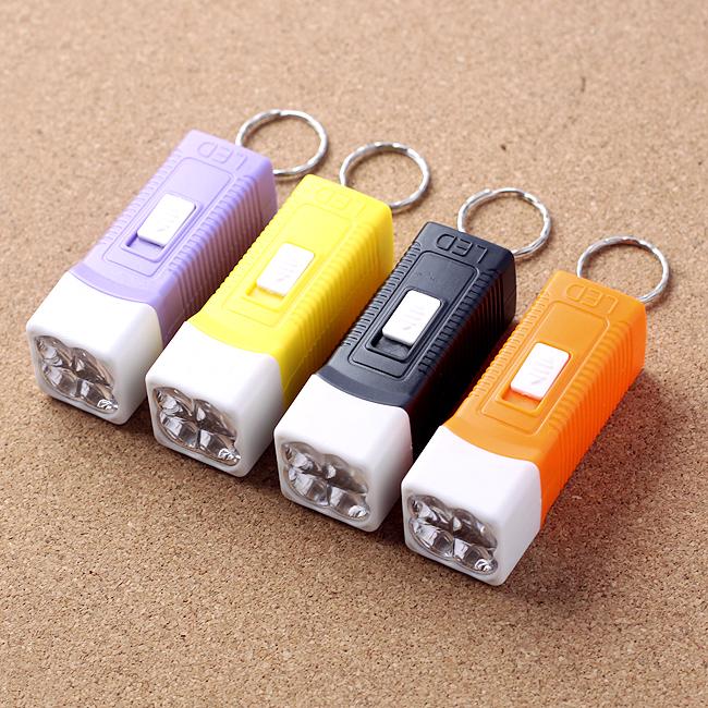[2030]4구 LED 열쇠고리 후레쉬