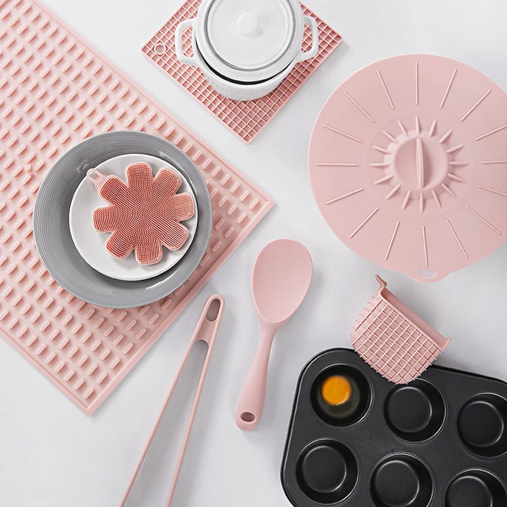 [추석선물]핑크블라썸 실리콘 주방용품 모음전