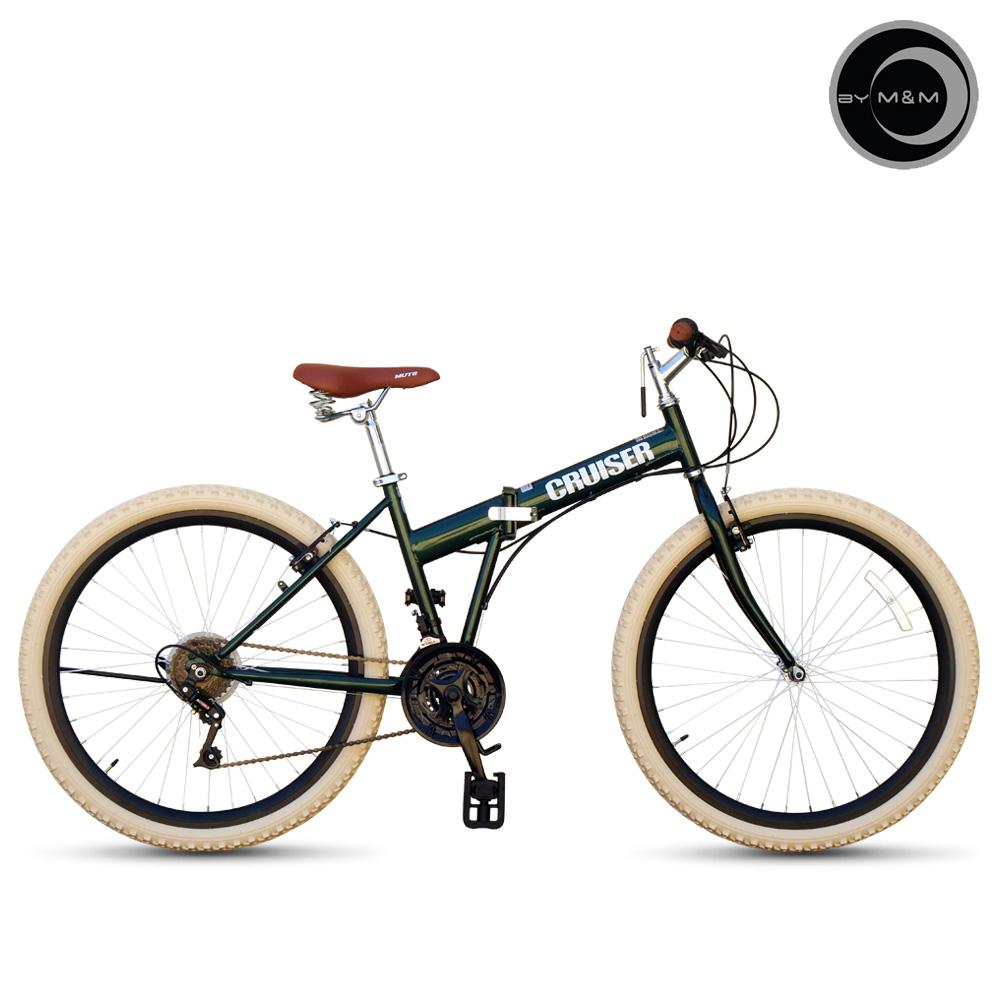씨티크루저 클래식 접이식 MTB 자전거 에코26