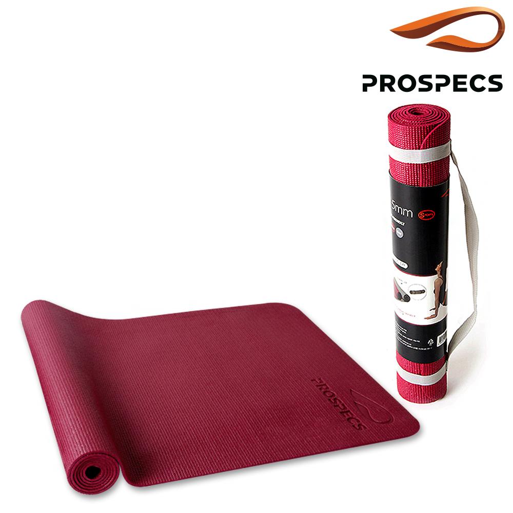 프로스펙스 요가매트 와인 PVC 5mm