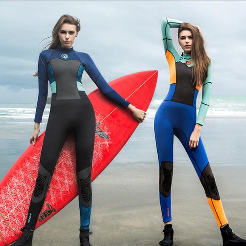 [해외직구] HISEA 여성용 올인원 서핑복 잠수복