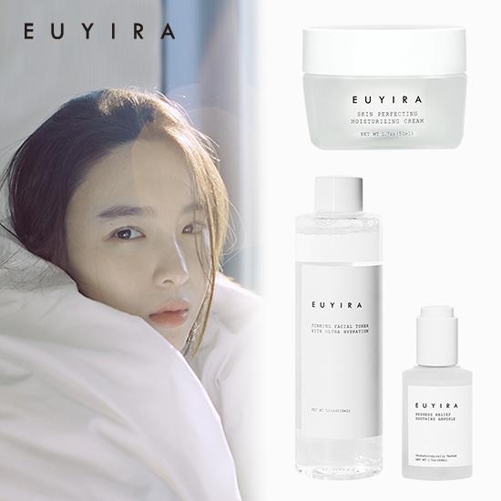 [겟뷰라벨선정] 유이라 하이드레이팅앰플+페이셜 토너+수분크림