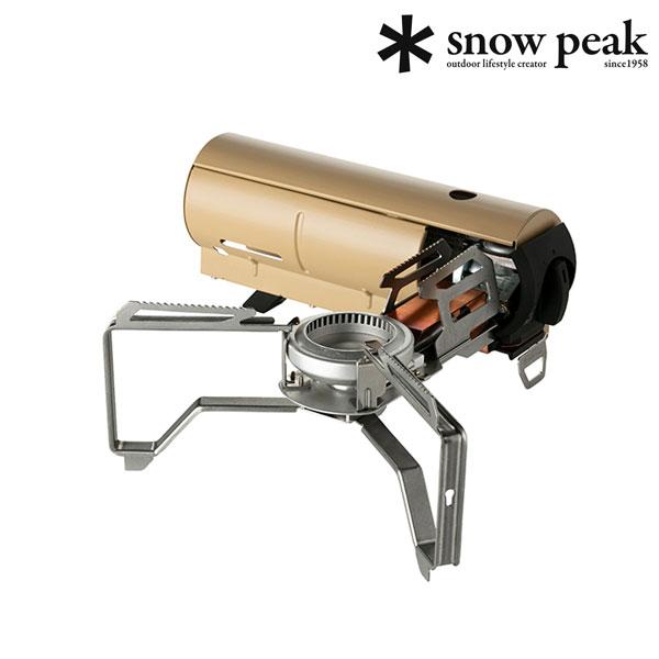 [스노우피크] 가든앤캠프 가스버너 카키 GS-600KH-KR