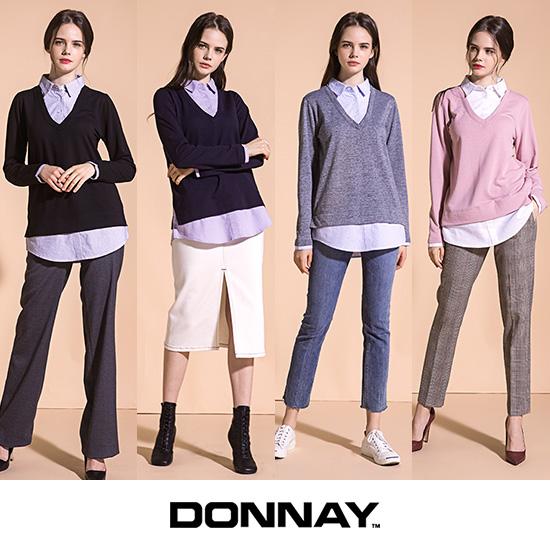 [오플]도네이 여성 프리미엄 기모 레이어드 셔츠 4종 19FW