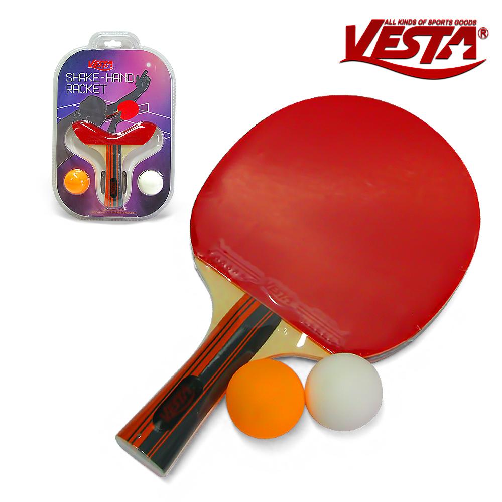베스타 탁구라켓 세트 VS305 쉐이크핸드 그립 라켓