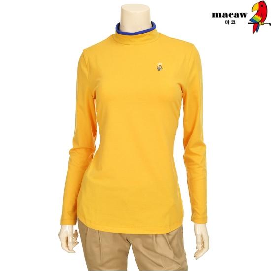 마코 여성 하이넥 라인 티셔츠 4MGW3TH90_22