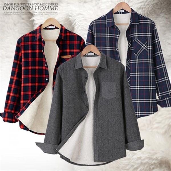 [하프클럽/단군]포근하고 따뜻한 겨울 대비 양털셔츠 모음