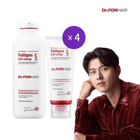 [닥터포헤어] 폴리젠 셀 에너지 탈모 샴푸500ml4,100ml4