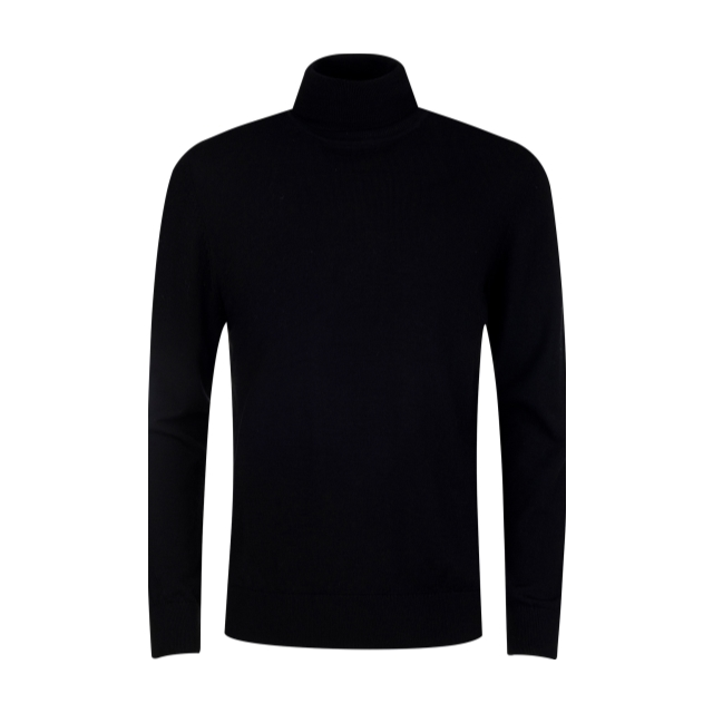 [앤드지] 모 100% 원사 터틀넥 스웨터 BK_BLY4EU1002BK