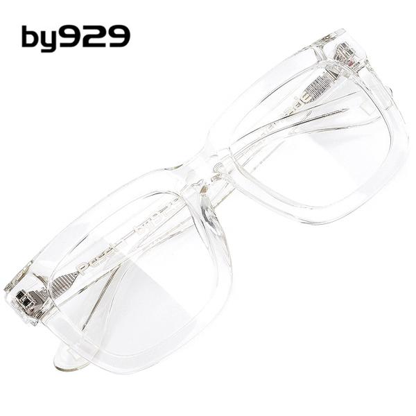 [T] BY929 명품 뿔테 투명 안경테 PESETA-CRYSTAL-D 54