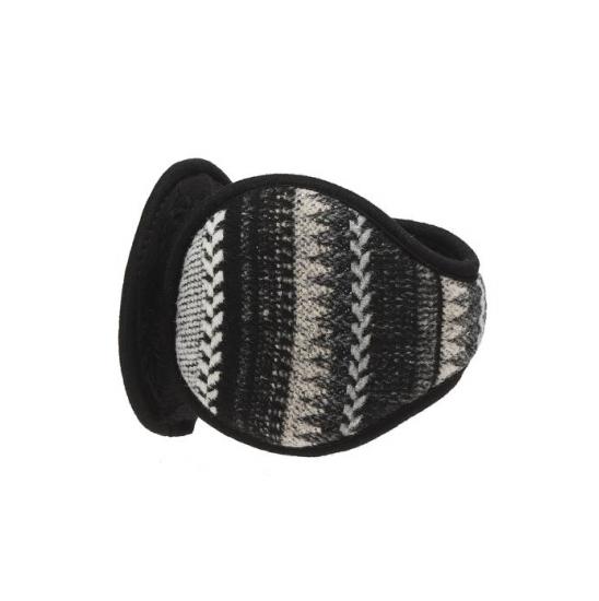 라푸마 블랙 패턴 귀마개 LEOE9F992BK