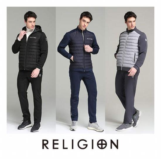 RELIGION 남성 웜패딩 트랙수트 세트RH-PTM-101