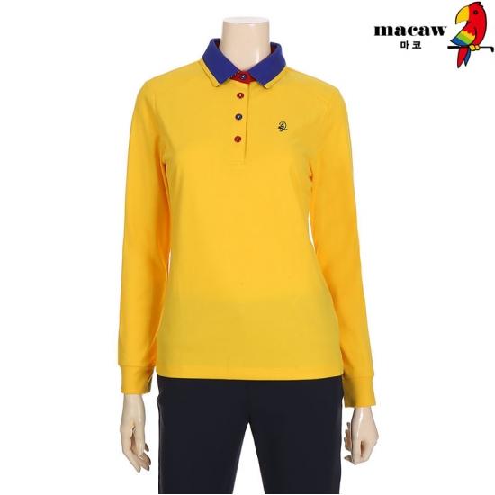 MACAW  여성 코트나피케 솔리드 티셔츠 4MGW4TS70_22