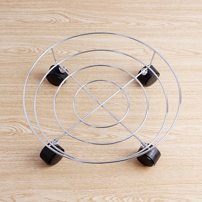 [2030]스텐 원형 이동식 받침대36cm