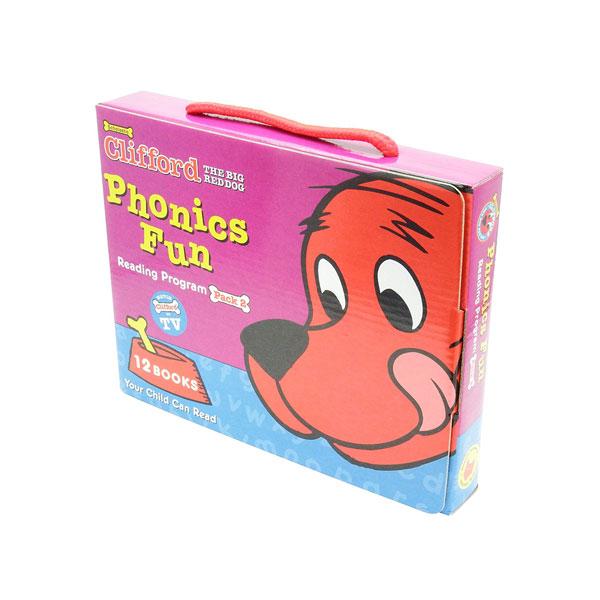 [영어원서] Clifford Phonics Fun Box Set 02 12 Books with CD