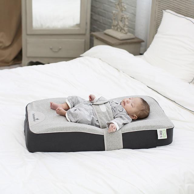 [통잠가능한아기 무중력 침대] 베이비스텔라 역류방지 쿠션 제로지