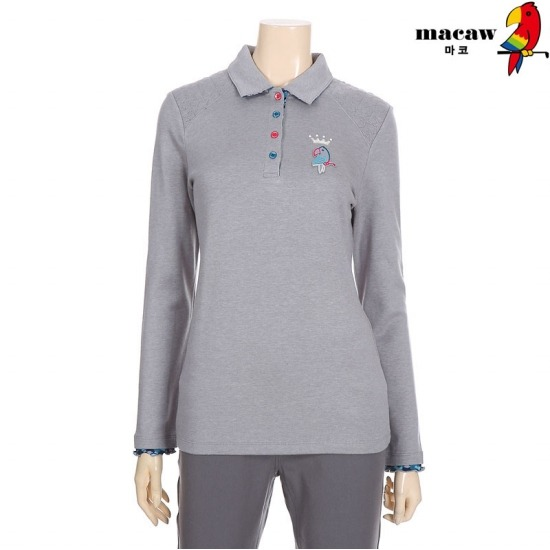 MACAW  여성 어깨상단 별퀼팅 제에리 티셔츠 4MGW4TS01_15