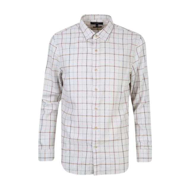 [OLZEN] 멜란 윈도우 체크 셔츠 ZPY4WC1502IV
