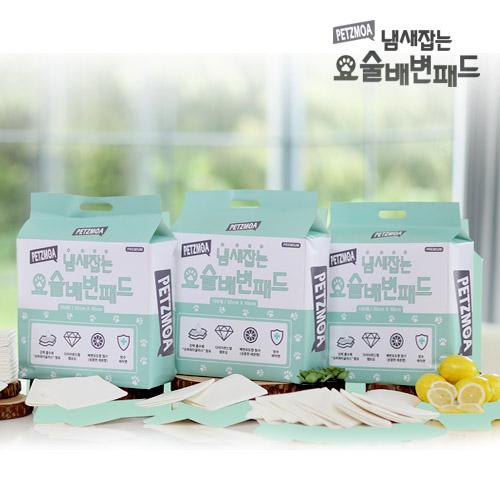 [오플] 페츠모아 냄새 잡는 요술 배변 패드 300매