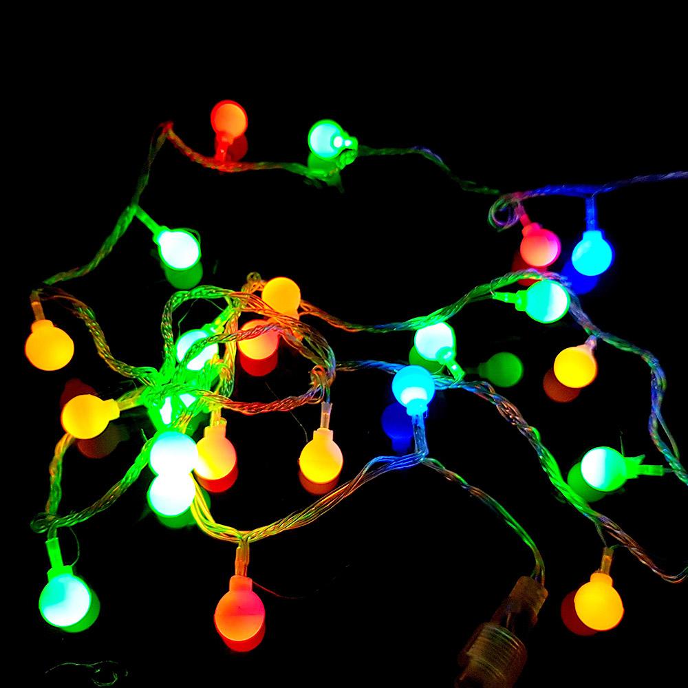 조아트 LED 앵두전구 50구 연결형 - 코드포함