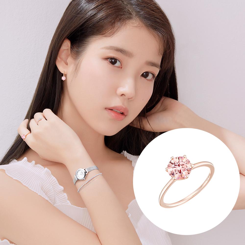 [제이에스티나] Pinkmond 반지 JJMBRQ9AF072SR120