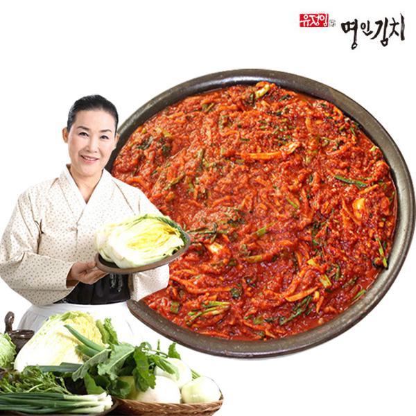 식품명인 유정임 김치 양념속 5kg