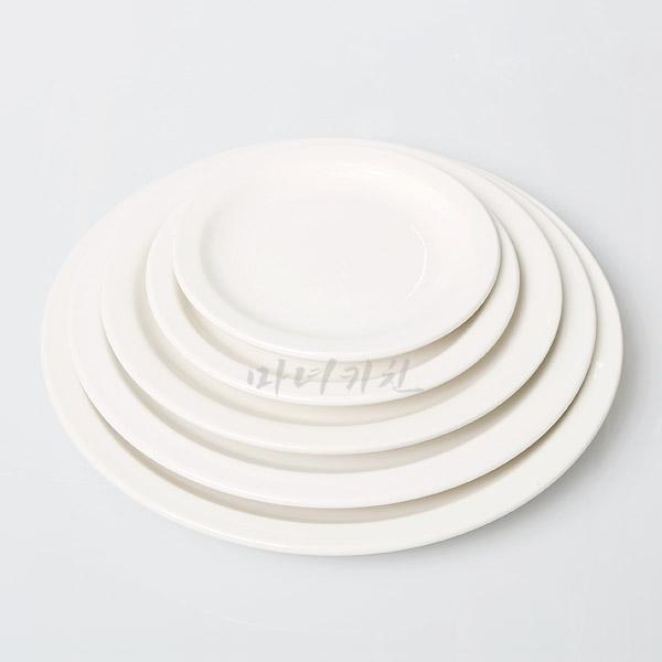 [시라쿠스]원형 플레이트 5size /양식접시
