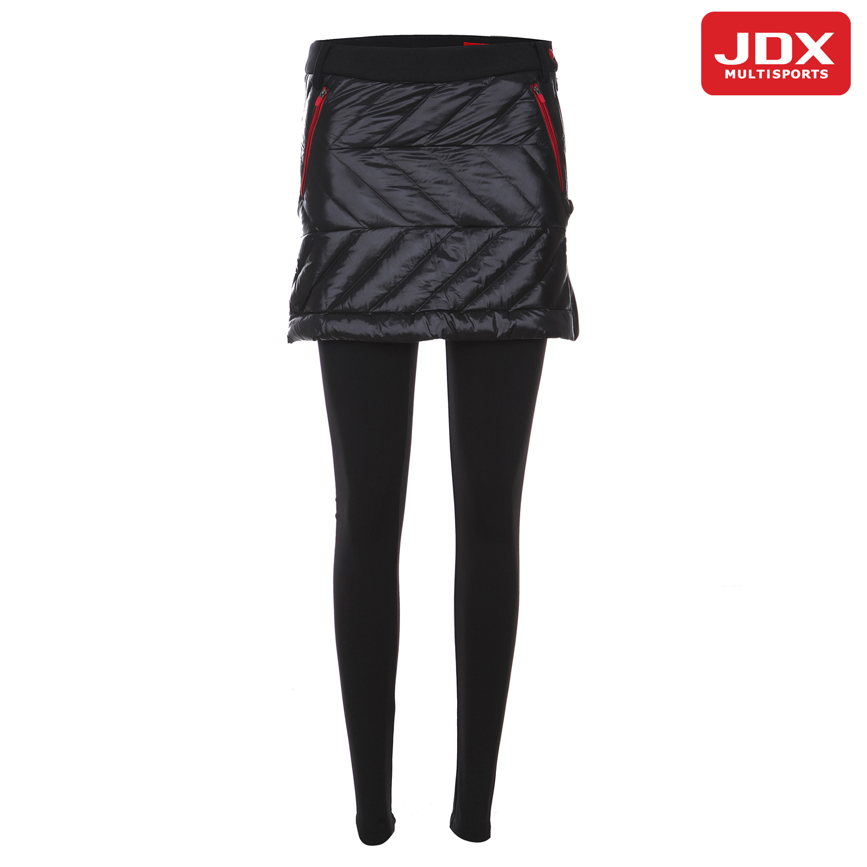 [JDX] 여성 D-TUBE 사이바 배색 큐롯X1MWPQW91BK