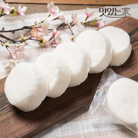 [맛있는家][떡편] 우유백설기 450g