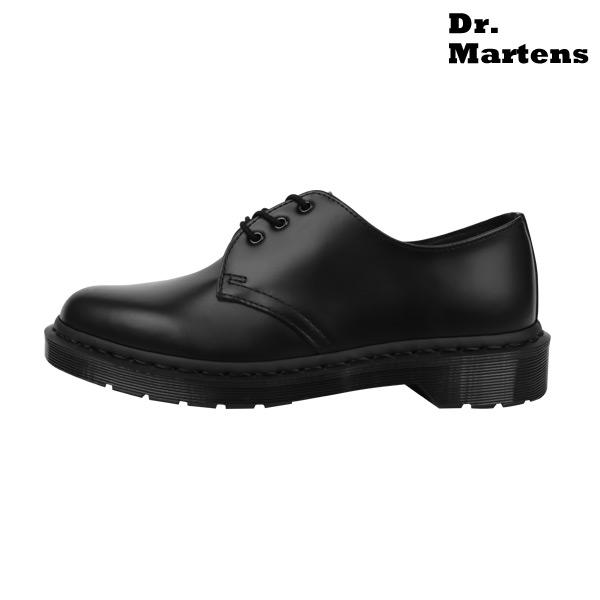 닥터마틴 1461 모노 3홀 블랙 스무스 R14345001
