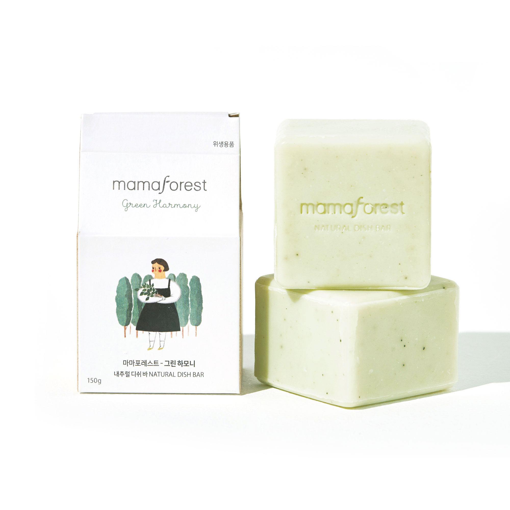 [마마포레스트] 천연주방세제 내추럴 디쉬바 그린하모니