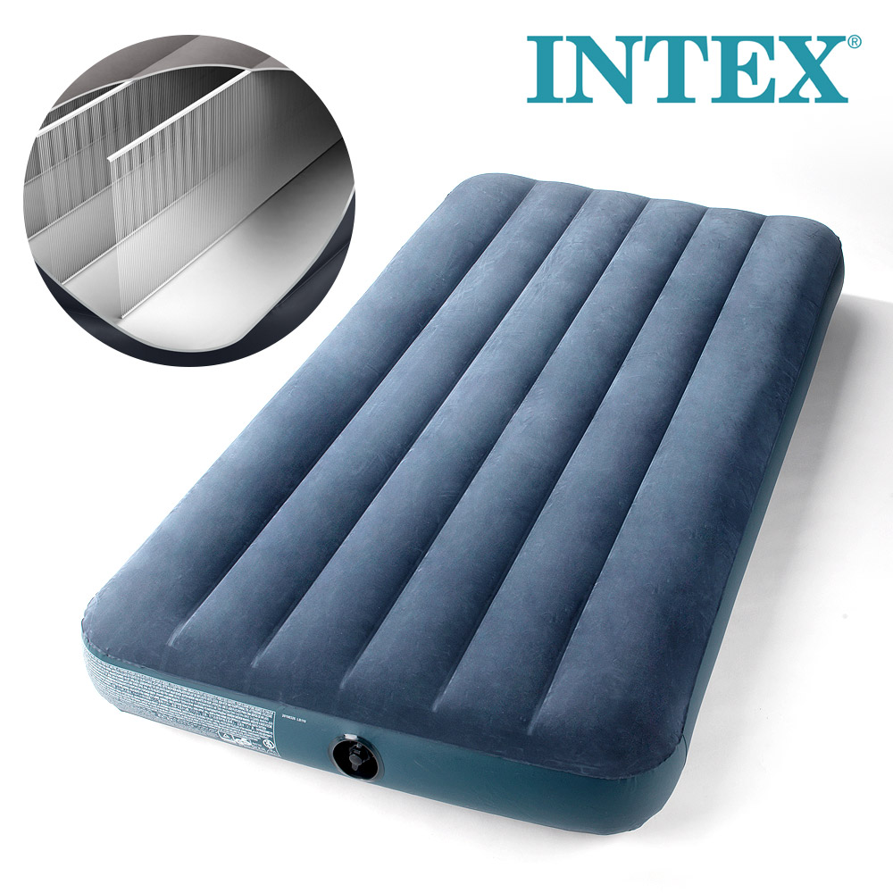 INTEX 에어매트 듀라빔슈퍼싱글 캠핑매트 캠핑용품