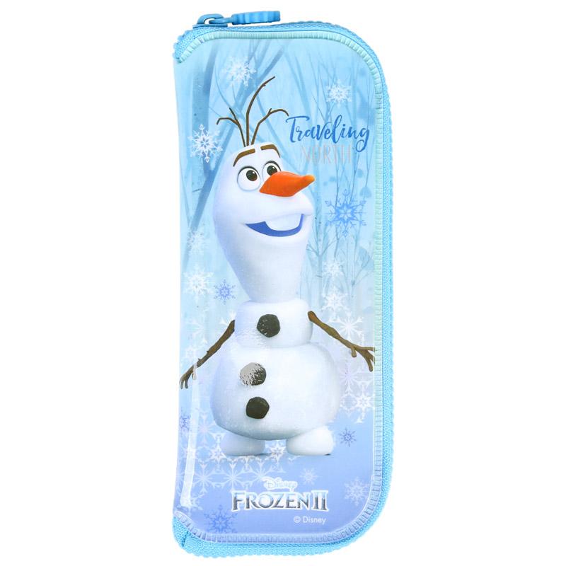 겨울왕국2 안전지퍼수저케이스올라프 캐릭터 유아식기