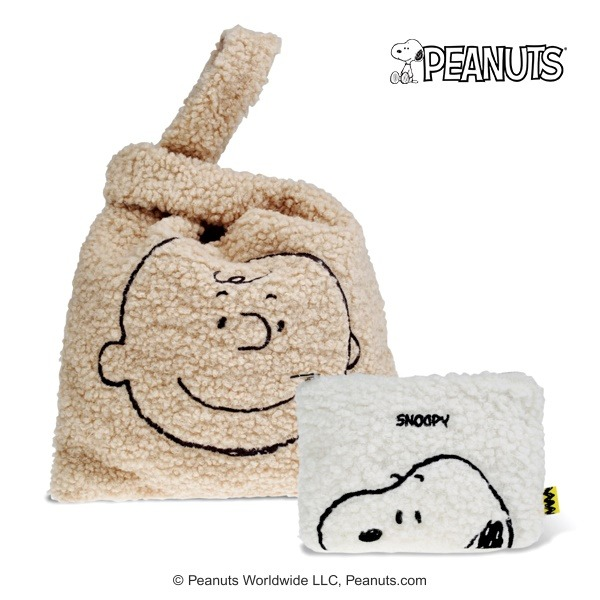 [Peanuts]찰리브라운 페이스 부클세트_스누피파우치