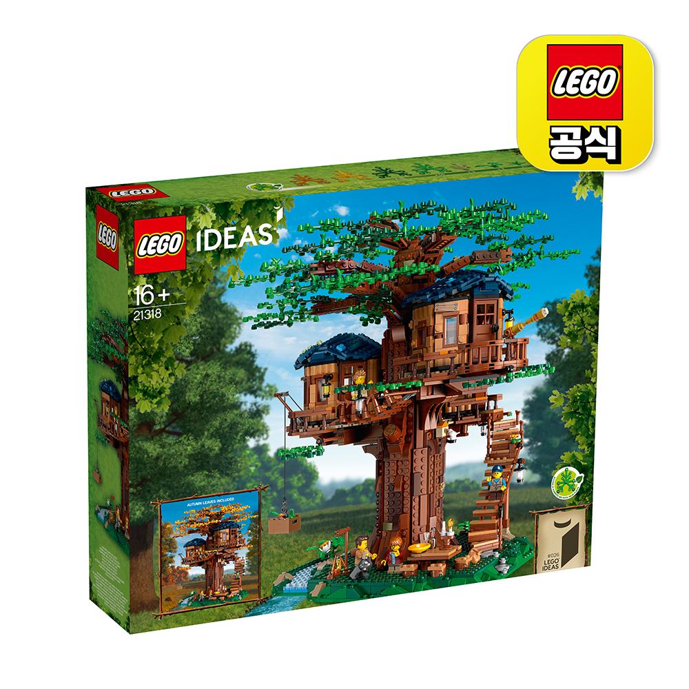 [레고공식] 21318_아이디어 트리 하우스