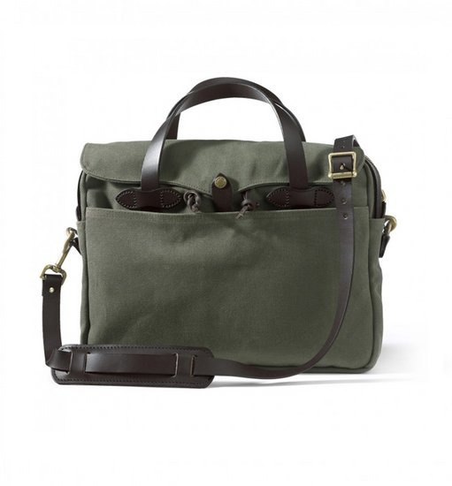 [주문폭주 재입고][FILSON] Original Briefcase 256 Otter Green