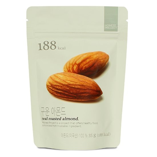 H Project Real roasted almond
