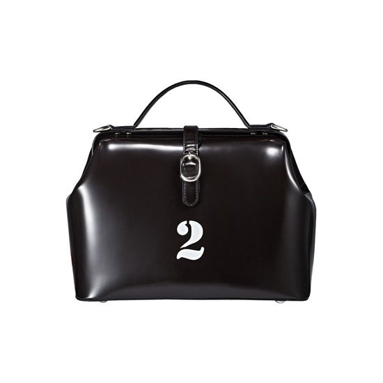 [1STRUMOR] Numbering Doctor Bag 02_Big 2_Black 퍼스트루머