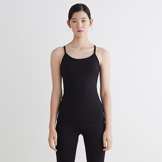 [SURFEA]Line Tank top_Black