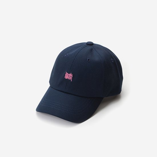 TAGGING CURVED CAP - NAVY