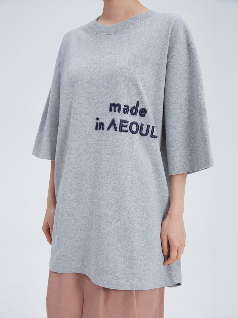 [newkidz nohant] MADE IN SEOUL T SHIRT GRAY